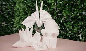 Hướng dẫn gấp khăn ăn napkin giúp trang trí bàn tiệc sang trọng