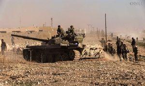 Nga trút hỏa lực, quân đội Syria đánh tan phiến quân phản kích ở Hama (video)