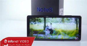 Mở hộp Galaxy Note 8 chính hãng đầu tiên tại Việt Nam