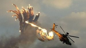 Trực thăng Nga bị tố tấn công phóng viên tại tập trận Zapad 2017
