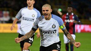Inter đứt mạch 4 trận toàn thắng, tạm lên đầu bảng Serie A