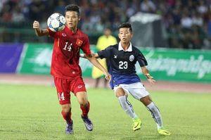 Chơi thiếu người, U16 Việt Nam vẫn vùi dập Campuchia