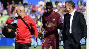 Ousmane Dembele đích thân báo tin vui cho Barcelona