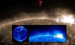 Bí ẩn vật thể hình chữ nhật khổng lồ xuất hiện trên Mặt trời