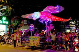 70 xe mô hình đèn Trung thu sẽ trình diễn tại Đêm hội thành Tuyên