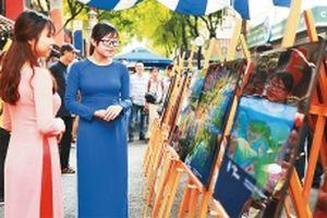 Ấn tượng với triển lãm ảnh 'Việt Nam nhìn từ trên cao'