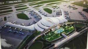 3 đồng giải Nhất thiết kế kiến trúc nhà ga hành khách Cảng hàng không quốc tế Long Thành