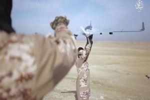 IS dùng UAV thả đạn pháo, ngăn binh sĩ Syria vượt sông Euphrates
