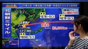 Sợ tên lửa Triều Tiên, 3 hãng hàng không phải đổi đường bay