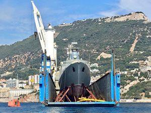 Ảnh đẹp chiến hạm Gepard Việt Nam tại Gibraltar