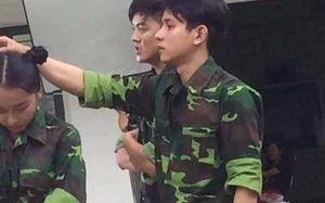 9X mặc áo lính được chú ý không kém Sơn Tùng M-TP