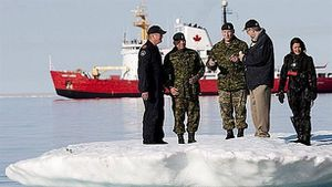 Canada lộ vũ khí đẩy lùi Nga tại Bắc Cực