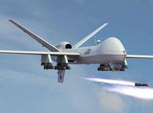 Xem UAV Reaper chặn đứng một vụ hành hình công khai của IS