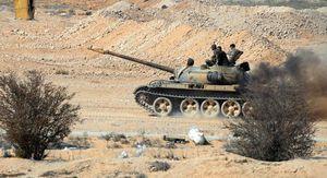 Trực thăng Nga truy sát phiến quân Syria trên chiến trường Hama (video)