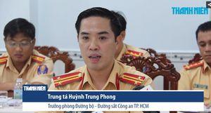 Trưởng phòng CSGT TP.HCM và những câu trả lời dư luận về xi nhan đường cong