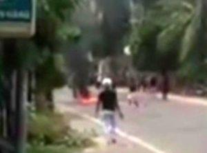 Giang hồ dùng hung khí tấn công nhà dân ở Mũi Né