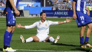 THỐNG KÊ kém cỏi của Ronaldo sau trận thắng Alaves
