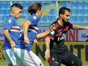 Video, kết quả bóng đá Sampdoria - Milan: 20 phút, 2 cú đấm choáng váng