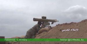 Quân đội Syria bắn cháy hầu hết tăng thiết giáp phiến quân ở Hama (video)