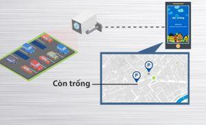 TP HCM dùng camera kết hợp công nghệ tìm chỗ đỗ xe cho tài xế