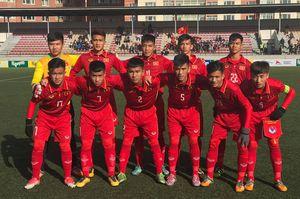 U.16 Việt Nam để thua đối thủ mạnh U.16 Australia
