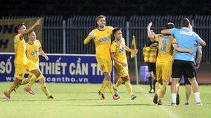 Vòng 19 V-League: Hủy diệt Cần Thơ, FLC Thanh Hóa đòi lại ngôi đầu