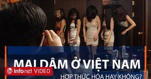 Mại dâm ở Việt Nam: Hợp thức hóa hay không?