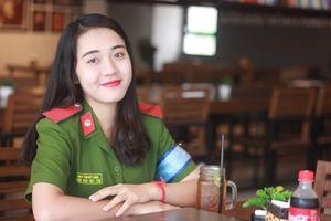 Nữ sinh Học viện Cảnh Nhân dân: 'Tôi muốn lặp lại danh hiệu thủ khoa'