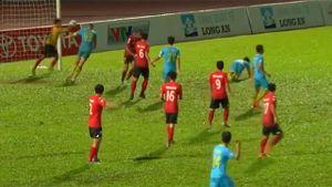 Highlights CLB Long An 2-2 CLB Khánh Hòa