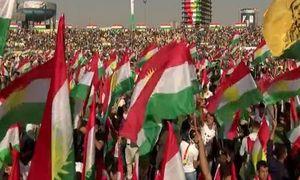 Biển người Kurd ủng hộ trưng cầu dân ý đòi độc lập