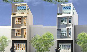 10 thiết kế nhà 4 tầng mái bằng đẹp ngây ngất