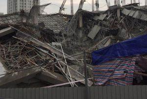 Vì sao công trình trường mầm non ở Hà Nội bị đổ sập?