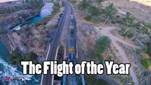 Video bay flycam siêu đỉnh gây tranh cãi