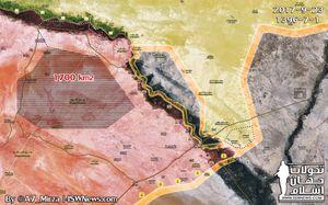 Quân đội Syria thần tốc đập tan IS, chiếm 1.700 km2 lãnh thổ dọc Euphates (video)