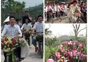 Không phải xế sang, đây mới là dàn 'siêu xe' rước dâu 'độc' nhất Việt Nam