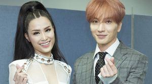 Đông Nhi bắt tay trưởng nhóm Super Junior, SNSD tại Asia Song Festival