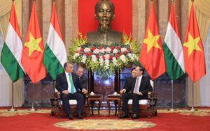 Chủ tịch nước Trần Đại Quang tiếp Thủ tướng Hungary Orban Viktor