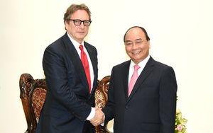 Thủ tướng Nguyễn Xuân Phúc tiếp Chủ tịch một quỹ đầu tư của Hoa Kỳ