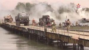 Dựng cầu thần tốc qua sông Euphrates, Nga quyết rửa hận