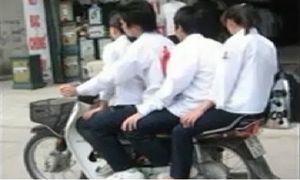 Tỷ lệ tai nạn với học sinh đi xe đạp điện rất cao