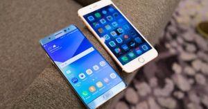 Galaxy Note 8 và iPhone 8: ai bền hơn ai?