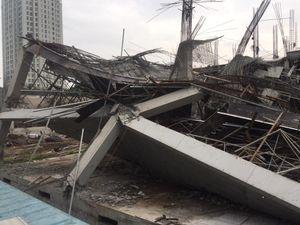 Xác định nguyên nhân ban đầu vụ sập công trình trường mầm non tại Mỹ Đình