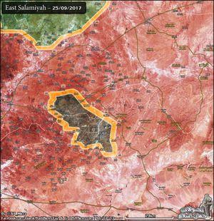Quân đội Syria vây diệt IS, đánh chiếm 35 km2 trên sa mạc Syria