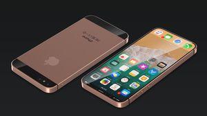 """Thiết kế """"con lai"""" của iPhone SE và iPhone X: Màn hình 4,7 inch toàn mặt trước, camera kép"""