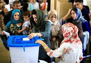 Hình ảnh người Kurd ở Iraq nô nức trưng cầu ý dân về độc lập