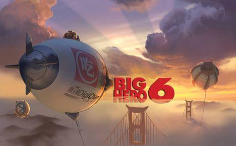 Big Hero 6 - Phim hoat hinh cho moi lua tuoi - Anh 1