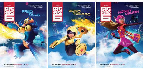Big Hero 6 - Phim hoat hinh cho moi lua tuoi - Anh 3