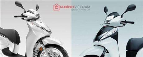 "SH 300i 2015: Nhieu cai tien, co khoa Smart Key, chay ""boc"" hon - Anh 2"