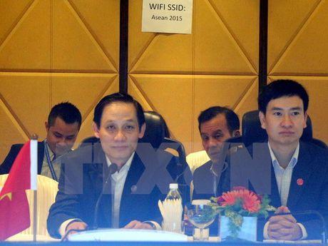 Viet Nam du Hoi nghi tru bi chuan bi Hoi nghi cap cao ASEAN - Anh 1