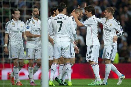 Ronaldo toa sang dua Real vao tu ket Champions League - Anh 1